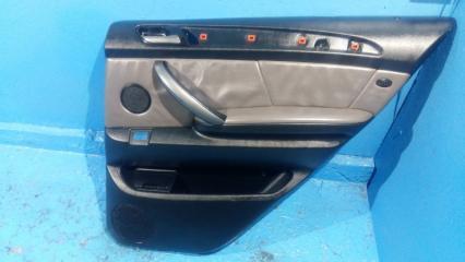 Запчасть обшивка двери задняя правая BMW X5