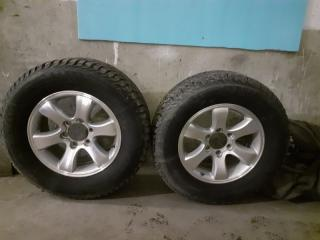 Комплект резины Toyota Land Cruiser Prado