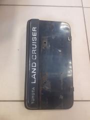 Подсветка номера Toyota Land Cruiser