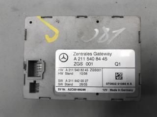 Блок ZGS Mercedes E class