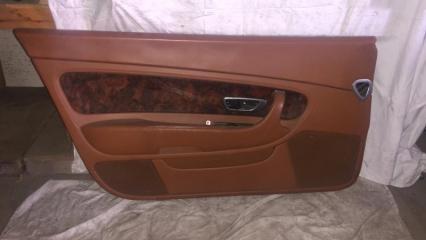Запчасть обшивка двери передняя левая Bentley Continental GT