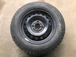 Колесо R14 / 175 / 70 Dunlop Winter Maxx 4x100 штамп.  (б/у)