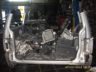 Панель кузова задняя Mitsubishi Pajero 1999