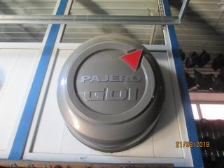 Чехол для запасного колеса Mitsubishi Pajero 1999