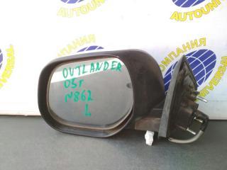 Зеркало левое Mitsubishi Outlander 2005