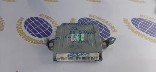 Блок управления двс Subaru Forester 2004