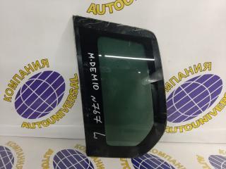 Стекло собачника левое Mazda Demio 2005
