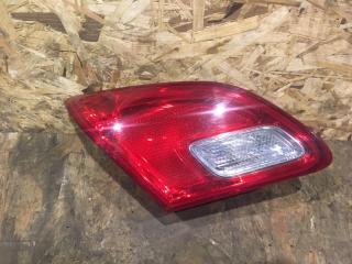 Запчасть фонарь задний левый Opel Astra 2012