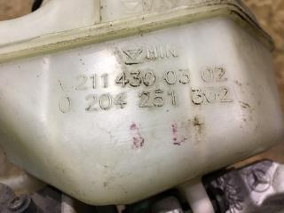 Главный тормозной цилиндр Mercedes-Benz E-klasse W211 m272