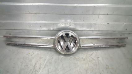 Накладка решетки радиатора передняя Volkswagen Touareg 2002- 2010 7l6 БУ