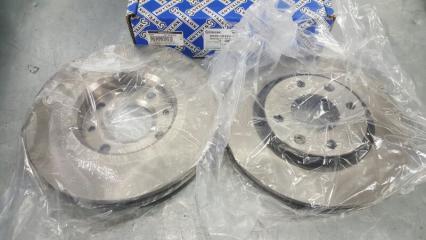 Тормозной диск (комплект 2 шт.) Peugeot 207 WC БУ