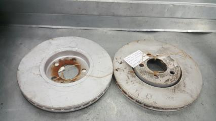 Запчасть тормозной диск (комплект 2 шт.) передний Skoda Rapid 2012-2017