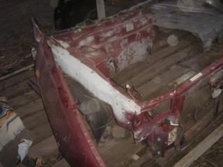 Лонжерон левый Nissan Almera