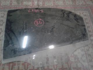 Запчасть стекло боковое заднее левое CHEVROLET LANOS 2005-2009