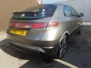 Накладка на крыло задняя левая Honda Civic 8 5D
