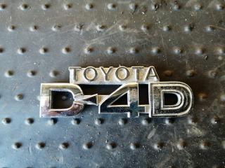 Запчасть эмблема Toyota RAV4 2005