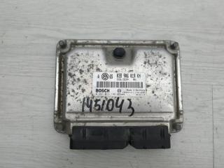 Блок управления двигателем Skoda Superb 2007