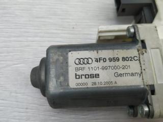 Запчасть моторчик стеклоподъемника задний правый Audi A6 2005