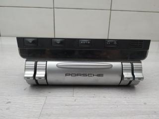 Блок управления климат-контролем Porsche Cayenne 2005