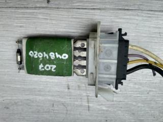 Запчасть резистор печки Peugeot 207 2007