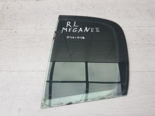 Форточка задняя левая Renault Megane 2004