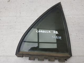 Запчасть форточка задняя правая Toyota Corolla 2005