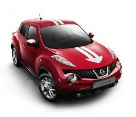 Запчасть комплект наклеек Nissan Juke