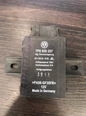 Блок управления спинки сидения Volkswagen Touareg