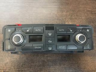 Панель управления климатом Audi A8 2004-2010