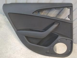 Обшивка двери задняя левая Audi A6 2010-2018