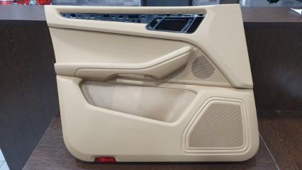 Обшивка двери передняя левая Porsche Macan 2014-2019