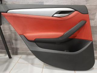 Обшивка двери задняя левая BMW X1 2009-2015