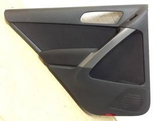 Обшивка двери задняя левая Volkswagen Tiguan 2007-2016