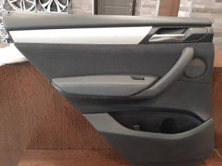 Обшивка двери задняя левая BMW X3 2013-2018