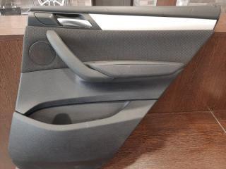 Обшивка двери задняя правая BMW X3 2013-2018