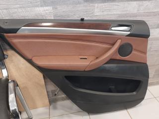 Обшивка двери задняя левая BMW X5 2009-2013