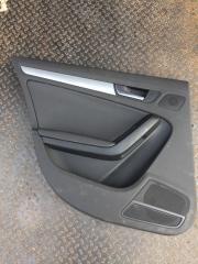 Обшивка двери задняя левая Audi A4 2010