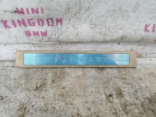 Накладка на порог левая jaguar XF 2011