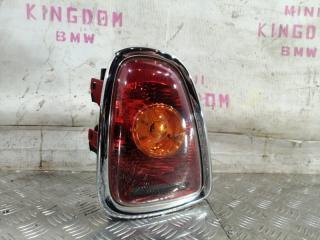 Запчасть фонарь задний левый MINI Cooper 2007