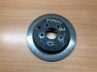 Запчасть диск тормозной задний Nissan Murano 2009