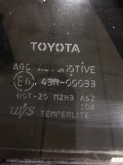 Запчасть форточка двери задняя левая Toyota Corolla