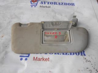 Запчасть козырек солнцезащитный правый Mazda 3 2007