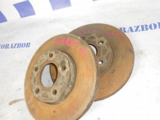Запчасть тормозной диск передний левый Mazda 3 2007