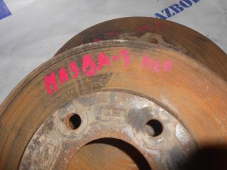 Запчасть тормозной диск передний правый Mazda 3 2007
