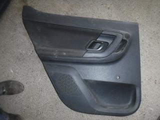 Запчасть обшивка двери задняя левая Skoda Fabia 2010