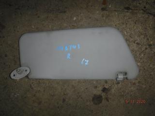 Запчасть козырек солнцезащитный правый Daewoo Matiz 2012