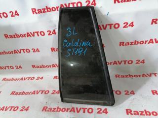 Запчасть форточка дверная задняя левая Toyota Caldina 1995