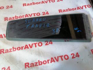 Запчасть форточка дверная задняя правая Subaru Traviq 2002