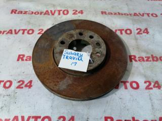 Запчасть диск тормозной передний Subaru Traviq 2002