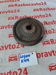 Запчасть шкив коленвала Renault Logan 2013